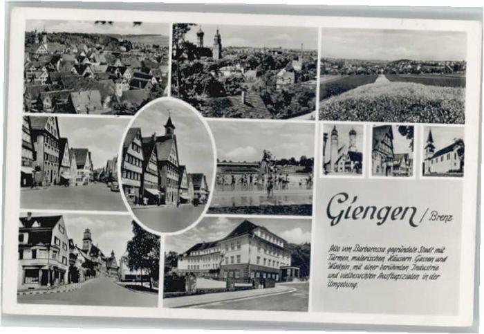 Giengen Giengen  * / Giengen an der Brenz /Heidenheim LKR