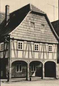 Hirschfelde Zittau Oberlausitzer Umgebindehaeuser Vorlaubenhaus Kat. Hirschfelde Zittau