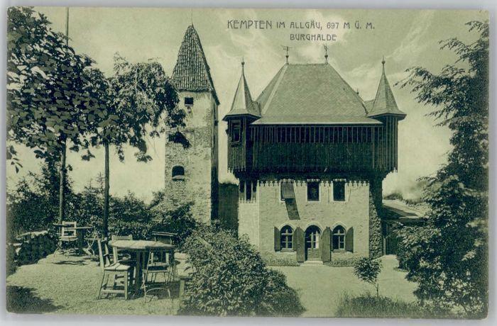 Kempten Kempten Burghalde * / Kempten (Allgaeu) /Kempten Stadtkreis
