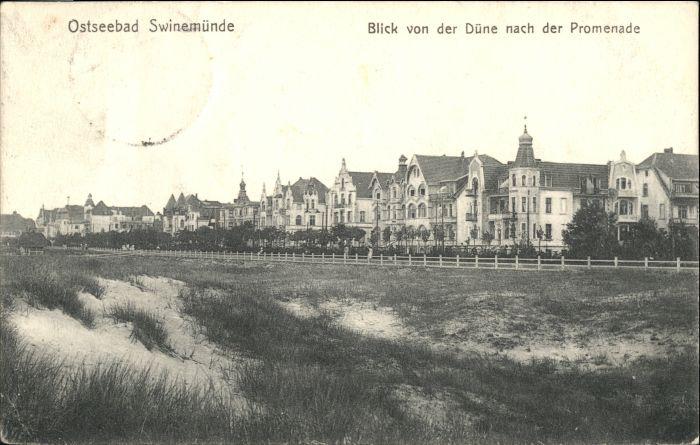 Swinemuende Ostseebad Westpommern Swinemuende x /  /