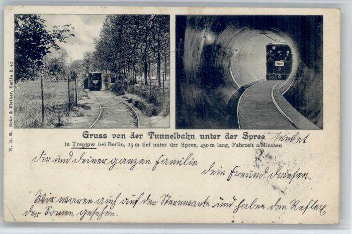Treptow Treptow Stadtteil Berlin Tunnelbahn x /  /