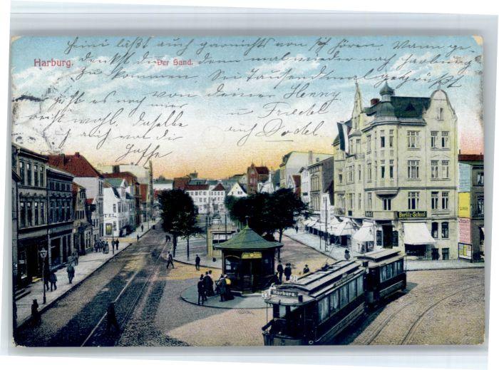 Harburg Harburg Sand Strassenbahn x /  /