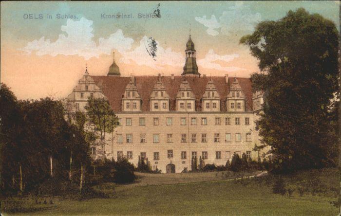 Oels Schlesien Schloss  x
