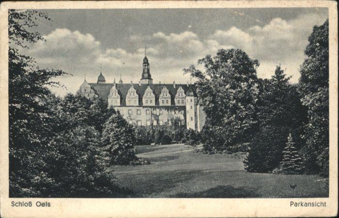 Oels Schloss Park x