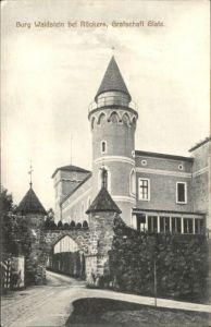 Rueckers Grafschaft Glatz Burg Waldstein x
