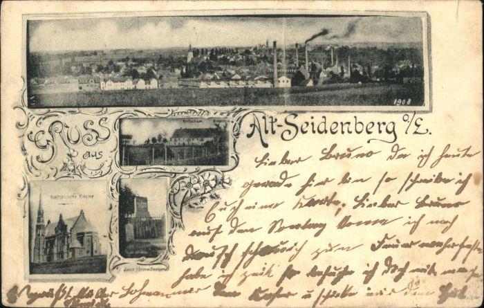 Alt-Seidenberg Oberlausitz Kirche Denkmal Kretscham x