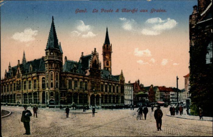 Gand Belgie Gand Poste Marche aux Grains x /  /