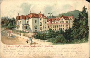 Rumburg Rumburg Sanatorium Frankenstein x /  /