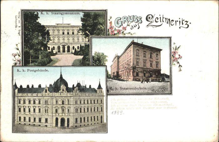 Leitmeritz Leitmeritz Gymnasium Post x /  /