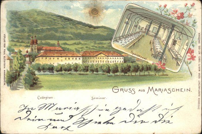 Mariaschein Mariaschein Collegium x /  /
