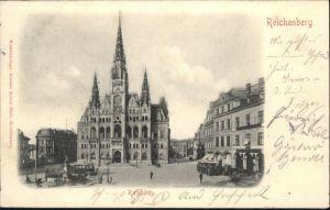 Reichenberg Boehmen Rathaus x