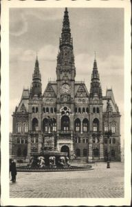 Reichenberg Boehmen Rathaus *
