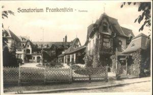 Rumburg Boehmen Sanatorium Frankenstein *