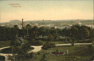 Rumburg Boehmen Friedhof Park *