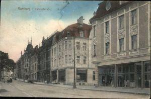 Rumburg Boehmen Bahnhofstrasse Kutsche x