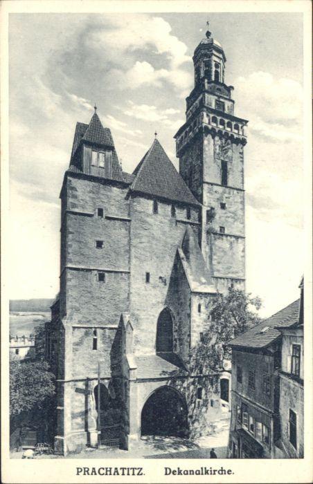 Prachatitz Dekanal Kirche  *