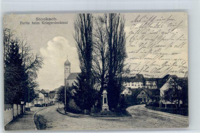 Stockach Stockach Kriegerdenkmal x /  /