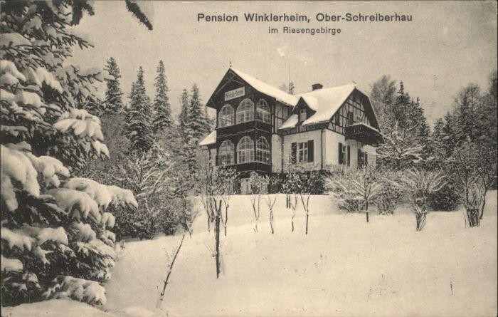 Ober-Schreiberhau Pension Winklerheim Riesengebirge *