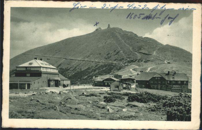 Schlesierhaus Schneekoppe Riesengebirge Riesenbaude x