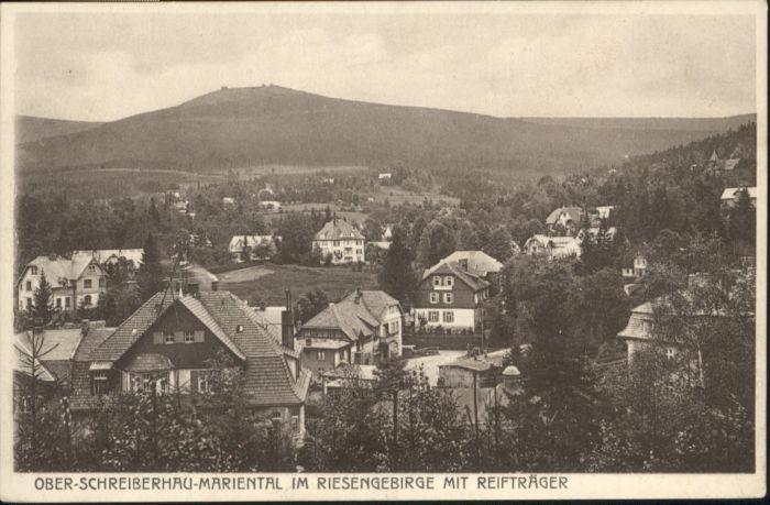 Ober-Schreiberhau Mariental Reiftraeger Riesengebirge  *