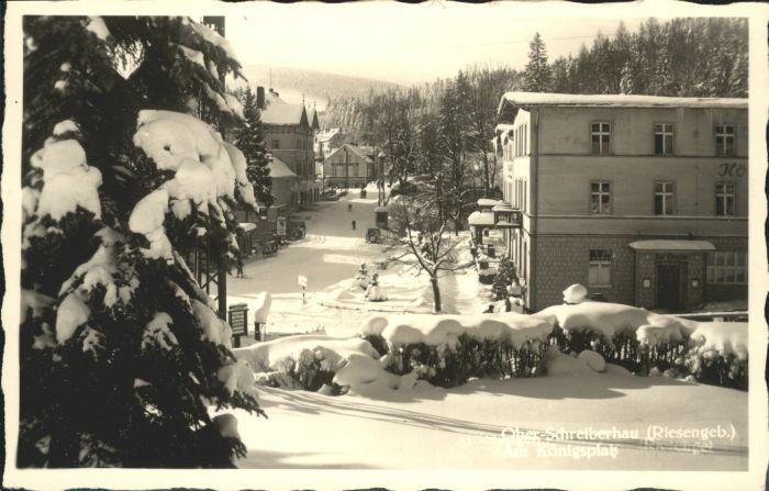 Ober-Schreiberhau Riesengebirge Koenigsplatz *