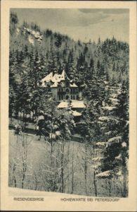 Petersdorf Riesengebirge Hohewarte *