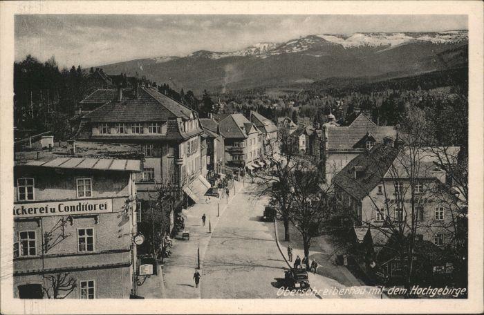 Ober-Schreiberhau Baeckerei Konditorei Riesengebirge *