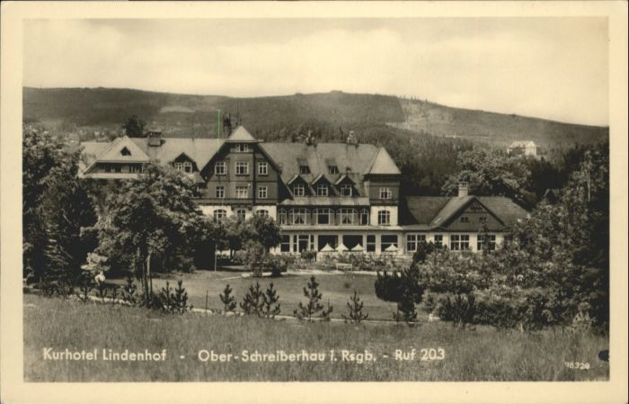 Ober-Schreiberhau Riesengebirge Kurhotel Lindenhof *