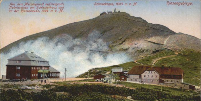 Riesenbaude Riesengebirge Schneekoppe Schlesierhaus *