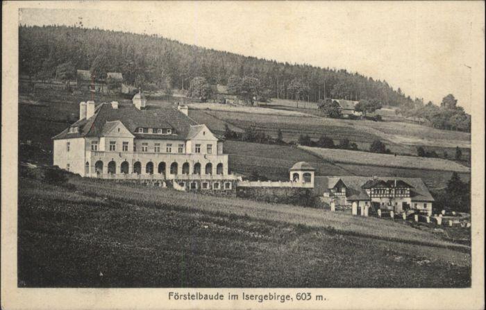Foerstelbaude Isergebirge Giehren Rabishau x