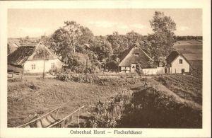 Seebad Horst Seebad Horst Fischerhaeuser * / Polen /Polen