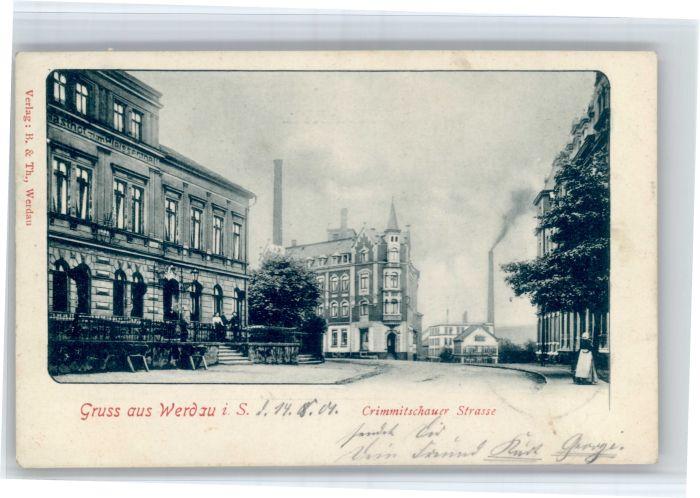 Werdau Werdau Sachsen Crimmitschauer Strasse x / Werdau /Zwickau LKR