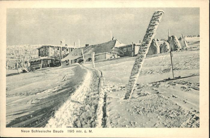 Schlesische-Baude Winter Riesengebirge