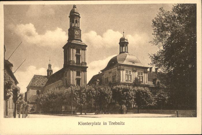 Treblitz Klosterplatz / Polen /Polen