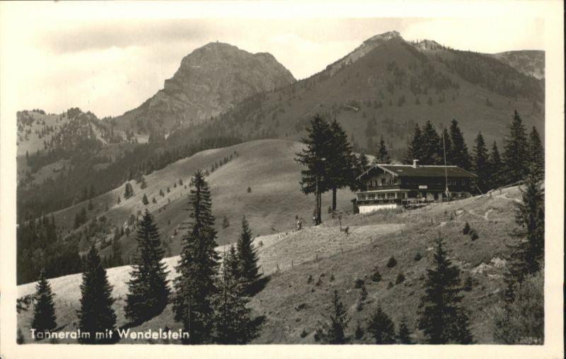 Wendelstein Wendelstein Tauernalm Bayrischzell / Bayrischzell /Miesbach LKR