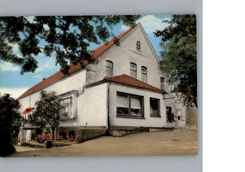 Roedinghausen Westfalen Gasthaus Neue Muehle  /  / 0