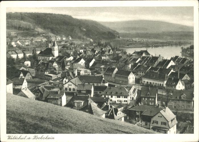 Waldshut-Tiengen Hochrhein Kat. Waldshut-Tiengen
