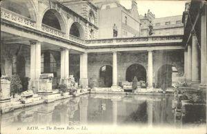 Bath  Roman Bath Kat. Grossbritannien