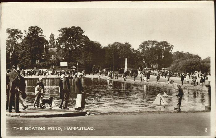 Hampstead Heath Boating Pond Kat. United Kingdom