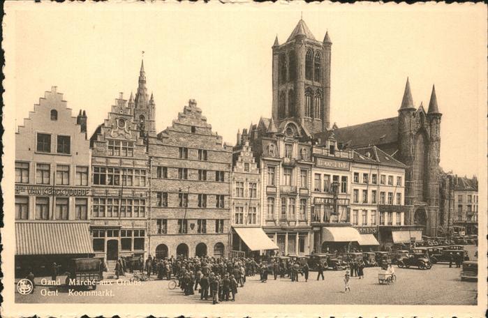Gand Belgie Marche aux Grains Kat.