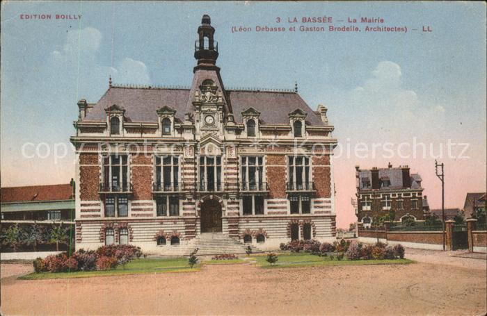 La Bassee La Mairie Kat. La Bassee