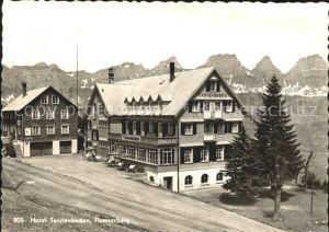 Flums Hotel Tannenboden Flumserberg Churfirsten Appenzeller Alpen Kat. Flums