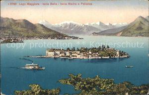 Isola Bella Lago Maggiore Isola Madre e Pallanza Kat. Italien