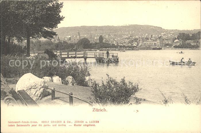 Zuerich Seeufer / Zuerich /Bz. Zuerich City