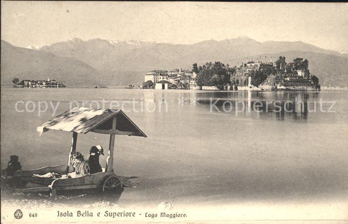 Isola Bella Lago Maggiore Isola Superiore  Kat. Italien