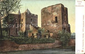 Santpoort Ruine van Brederode Kat. Niederlande
