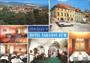 Prachatice Hotel Narodni Dum Kat. Prachatitz