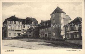Altkirch Haut Rhin Elsass Horst Wessel Platz Kat. Altkirch