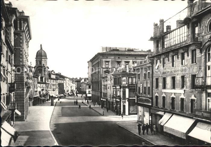 Fiume Corso Vittorio Emanuele III Kat. Rijeka