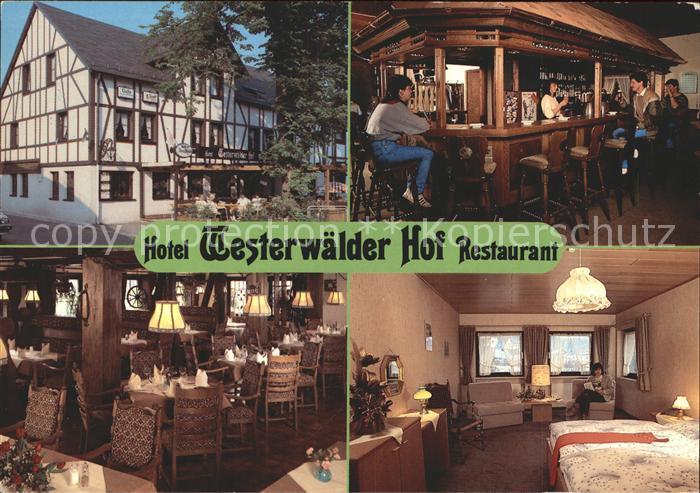 Bad Marienberg Westerwald Hotel Westerwaelder Hof Kat. Bad Marienberg (Westerwald)